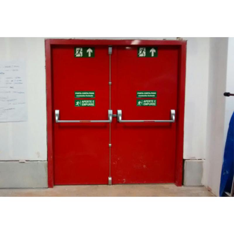 Controles De Acesso E Biometria Portas Corta Fogo P120