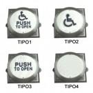 Botoeira (para controles de acesso) - MAC 747 - Cadeirante (encomenda)