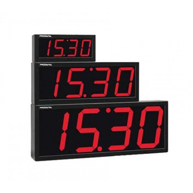 6b9453b6f14 Relógio Digital de Parede RDI-1G - Industrial   Comercial - Alcance de 60  metros  Veja as Proporções