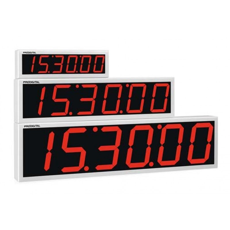 be4e851cf6c Relógio Digital de Parede RDI-2G - Industrial   Comercial - Alcance de 60  metros  Veja as Proporções