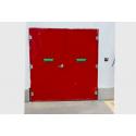 Portas Corta-Fogo Industrial P240 - Certificação NBR 1711
