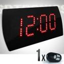 Relógio e Cronômetro Digital Progressivo / Regressivo Led Time 25 – 4 dígitos – com Controle Remoto
