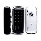 Fechadura Eletrônica FR400 – SENHAS / CARTÃO RFID  - para Portas de Vidro