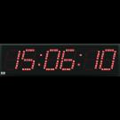 Relógio Digital de Parede HMS8 - 6 dígitos - DUPLA FACE - Alcance de 120 metros
