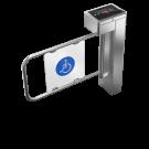 Catraca Eletrônica iDBlock PNE (digital + cartão + senhas + TCP/IP)