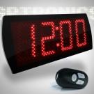 Relógio e Cronômetro Digital Progressivo / Regressivo Led Time 60 – 4 dígitos – com Controle Remoto