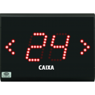 Painéis de Fila Única com 2 Dígitos e Setas Indicativas de Direção - PF24