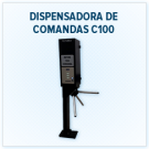 Catraca Dispensadora de Comandas C100