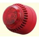 Sirene Eletrônica Industrial e Visual Multisom - TUCSG200V - para Uso Externo (IP65)