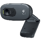 Webcam HD WEBCAM C270 - Videochamadas simples de 720p - 3 megapixel